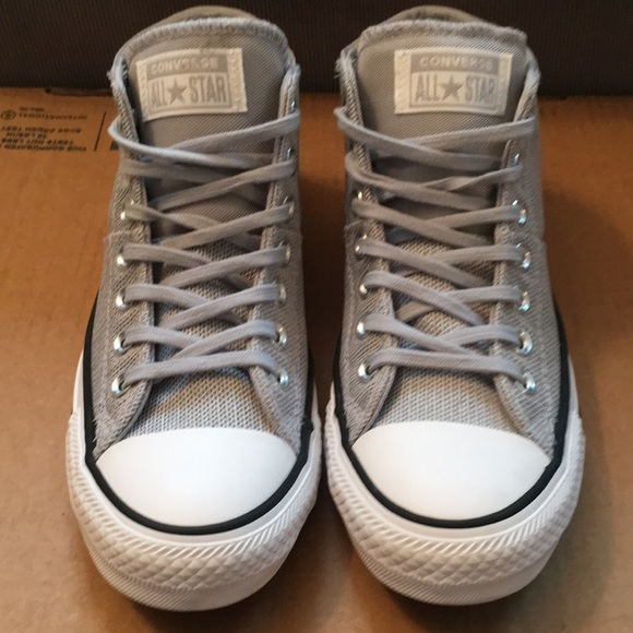 Chuck Taylor All Star Mid Wolf Grey Sneaker